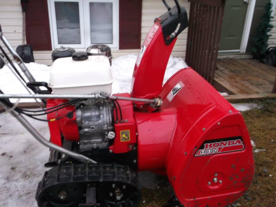 honda guys    HS-55 value? - Snowblower Forum : Snow Blower