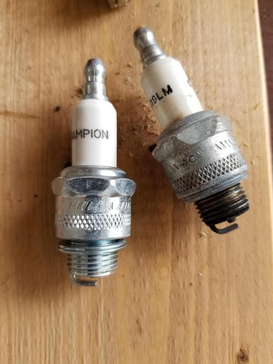 What Size Are My Tires >> Carb and spark plug switch on my craftsman 8/24 ...