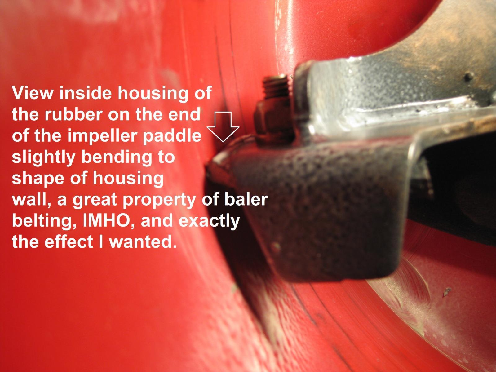 honda hssaawd  impeller modification aka parkers  snow boots snowblower forum