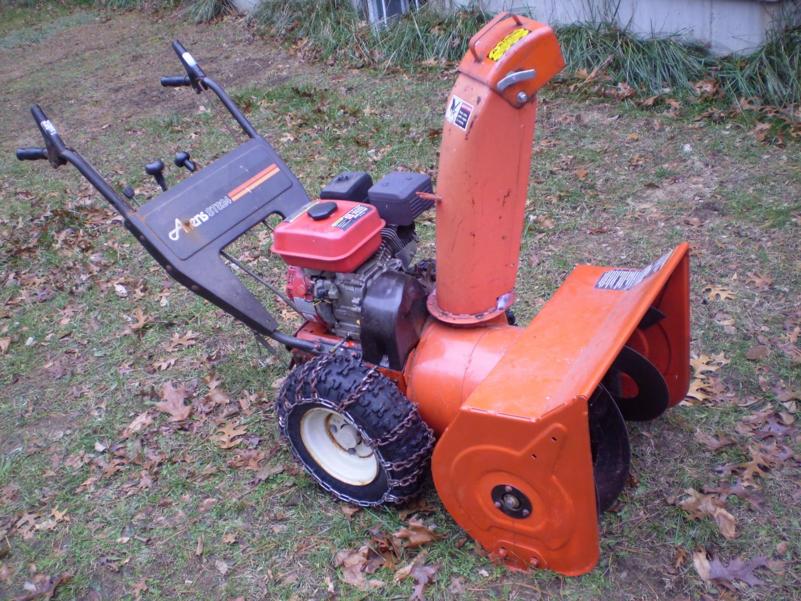 Replace Ariens ST824 Engine. Is It Worth It?