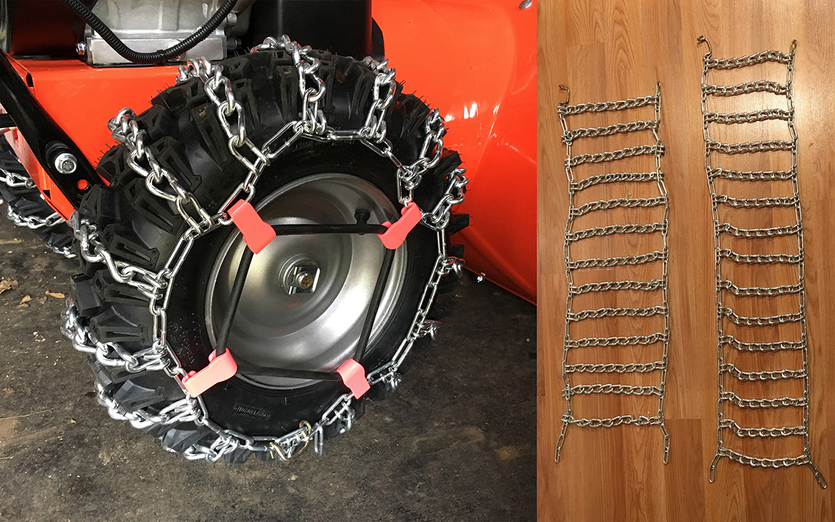 Ariens 721016 Snow Tire Chains for Deluxe and Platinum Series Snow Throwers