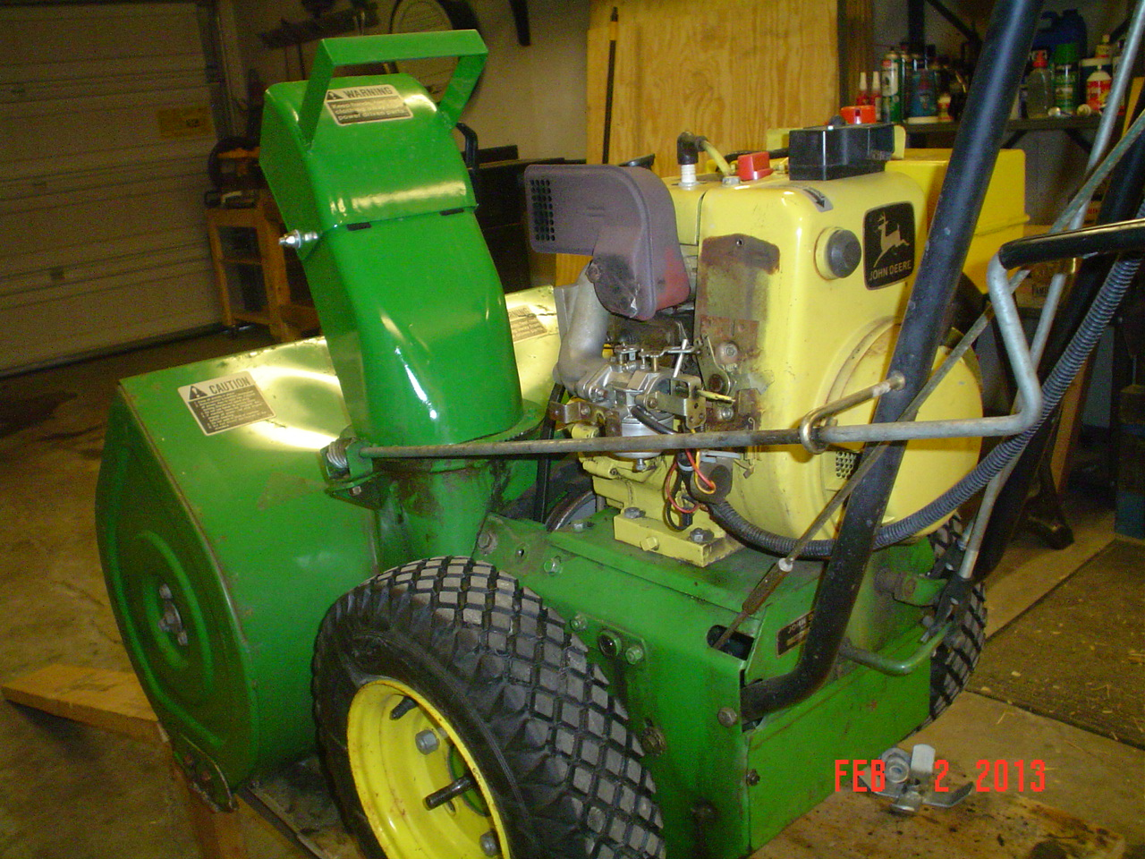 More HP out of a Tecumseh 8hp? - Snowblower Forum : Snow