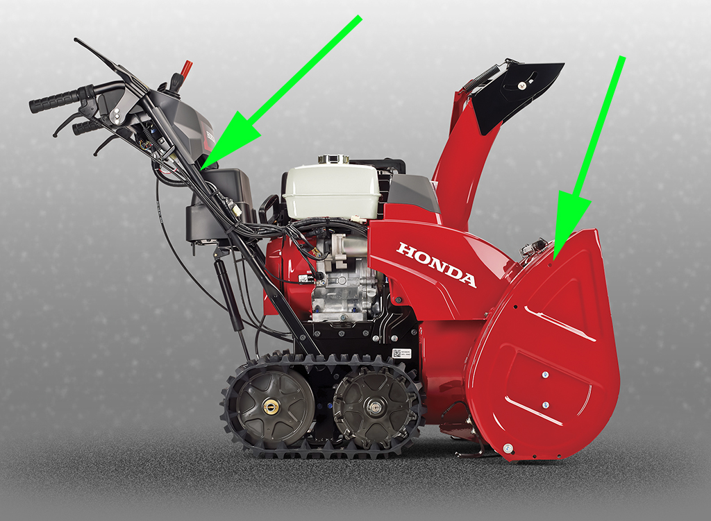 2018 HSS1332ATD - Crane lifting points - Snowblower Forum : Snow