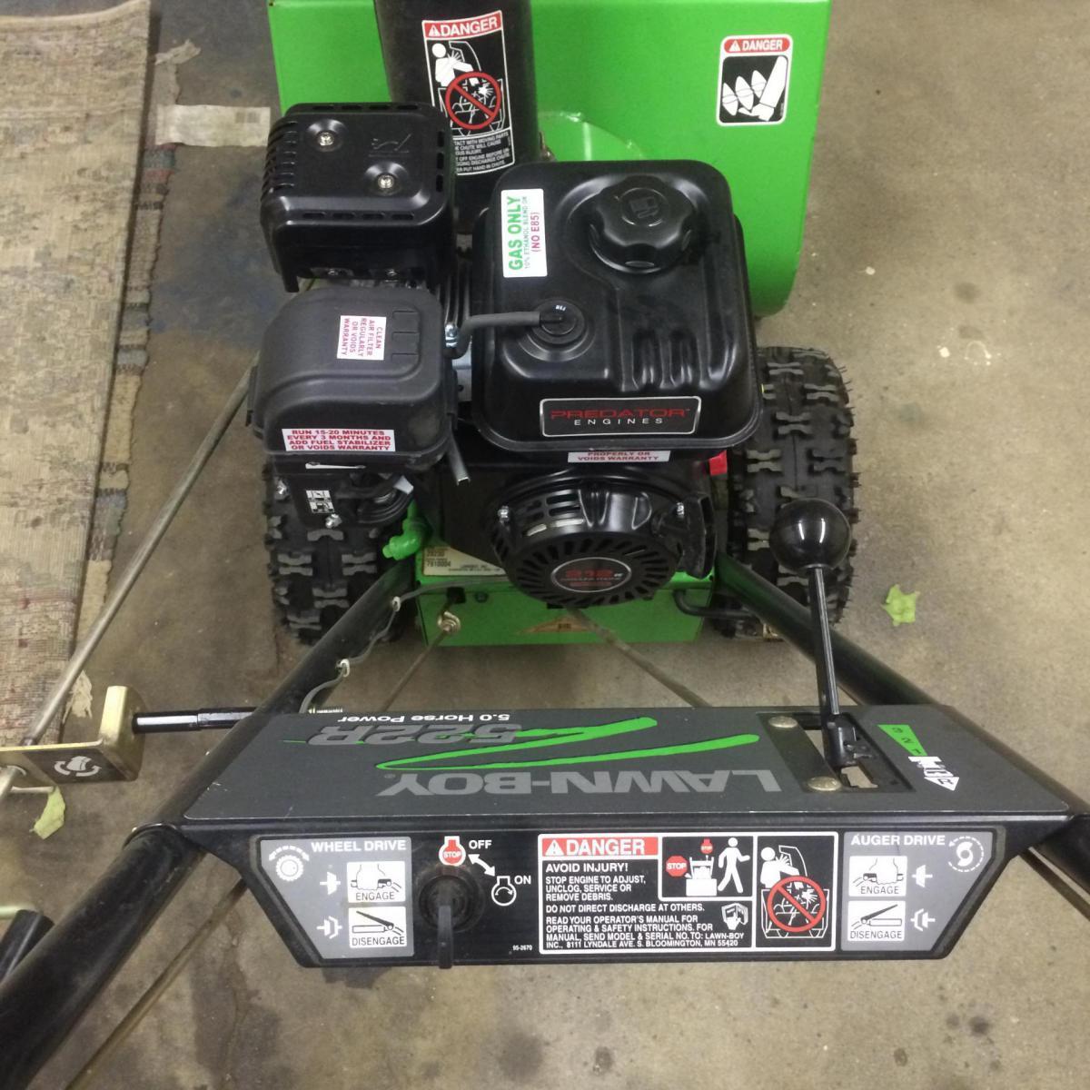 Lawn Boy 522r predator 212 install - Snowblower Forum : Snow
