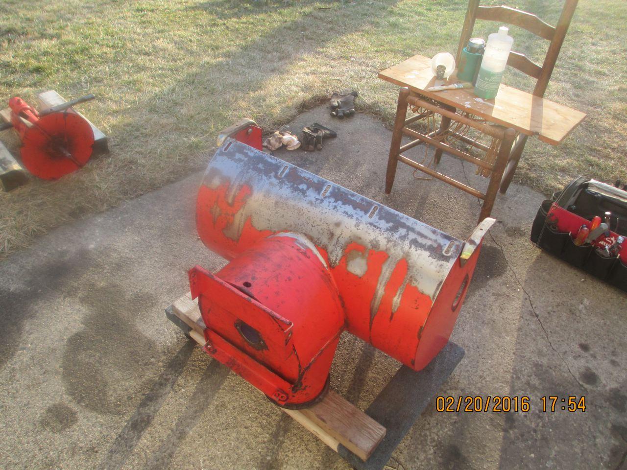 rust converter in impeller housing - Snowblower Forum : Snow Blower
