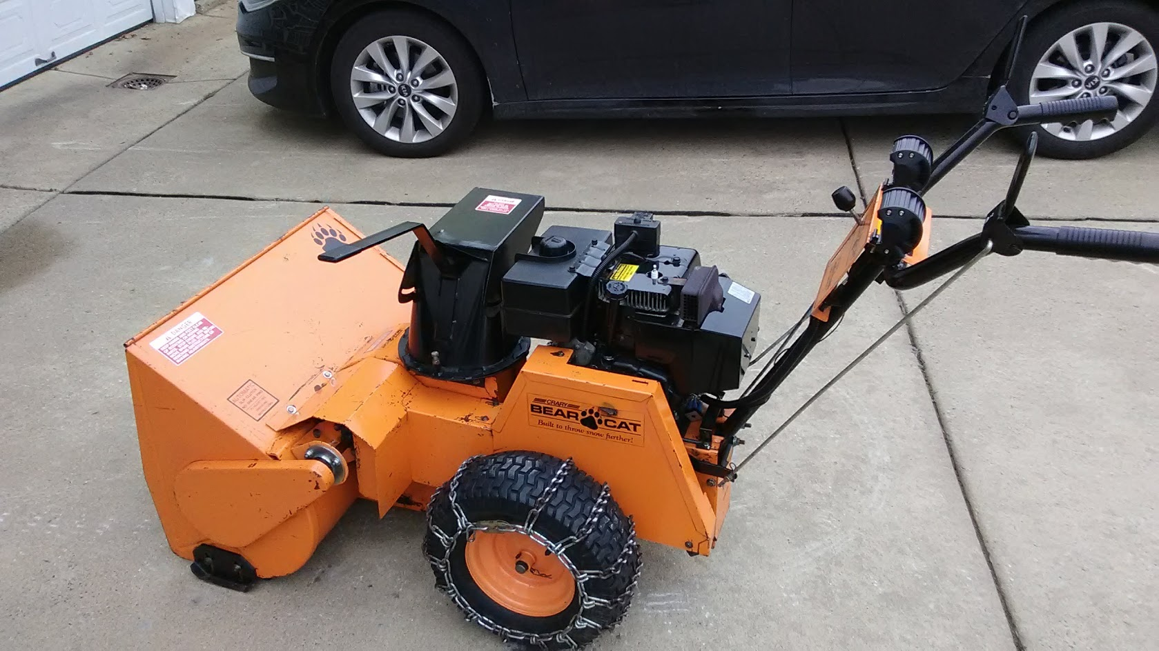 Bobcat Bear Cat Snowthrower Owners Sound Off Past Or