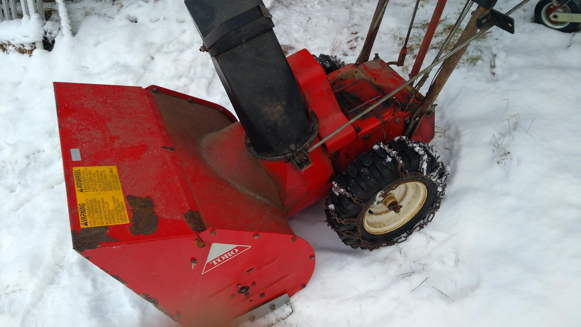 old 826 with new subaru engine - Snowblower Forum : Snow