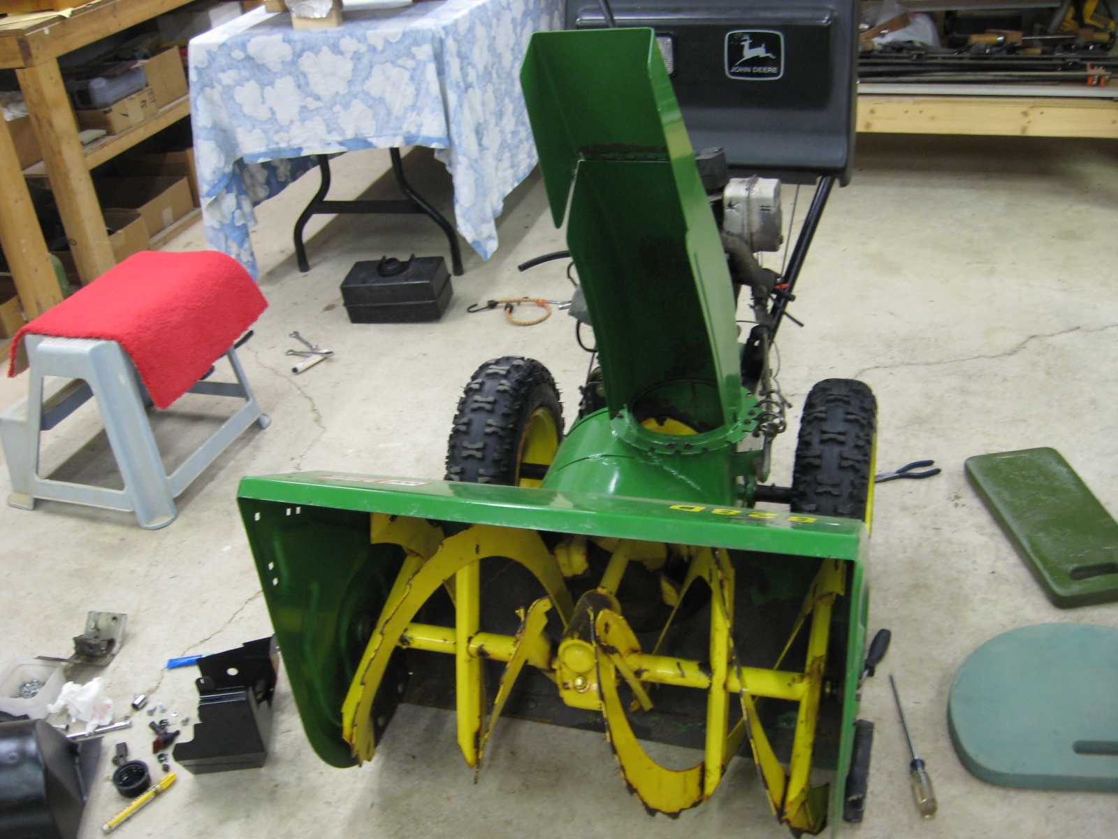 Way To CrossReference My Ariens Built JD Snowblower To A