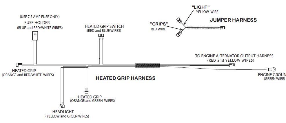 Mtd With Heated Grips No Heat