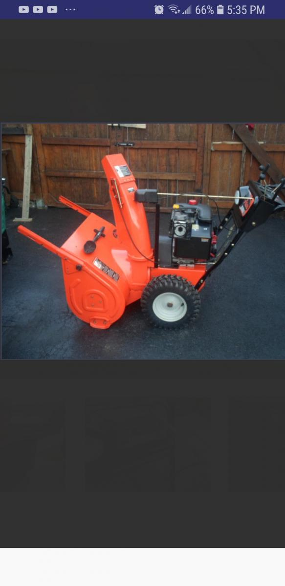 Used Ariens 1028 DLE Pro - Snowblower Forum : Snow Blower Forums