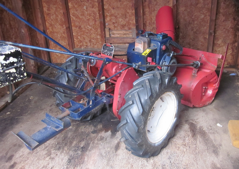 Simplicity Snow blower Tractor - Snowblower Forum : Snow