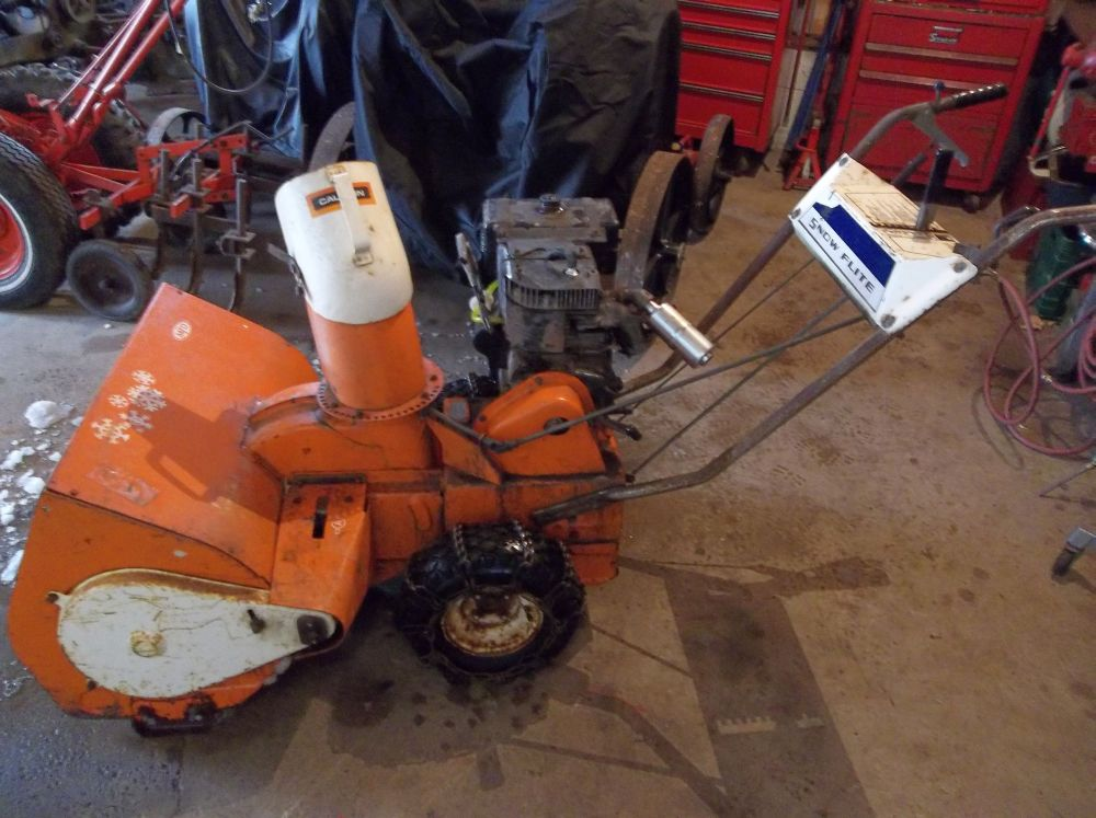 MTD Snowflite Old Snowblower Forum Snow Blower Forums