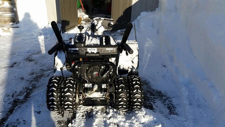 MTD 45 inch snowblower question - Snowblower Forum : Snow Blower Forums